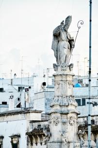 Sant'Oronzo statue