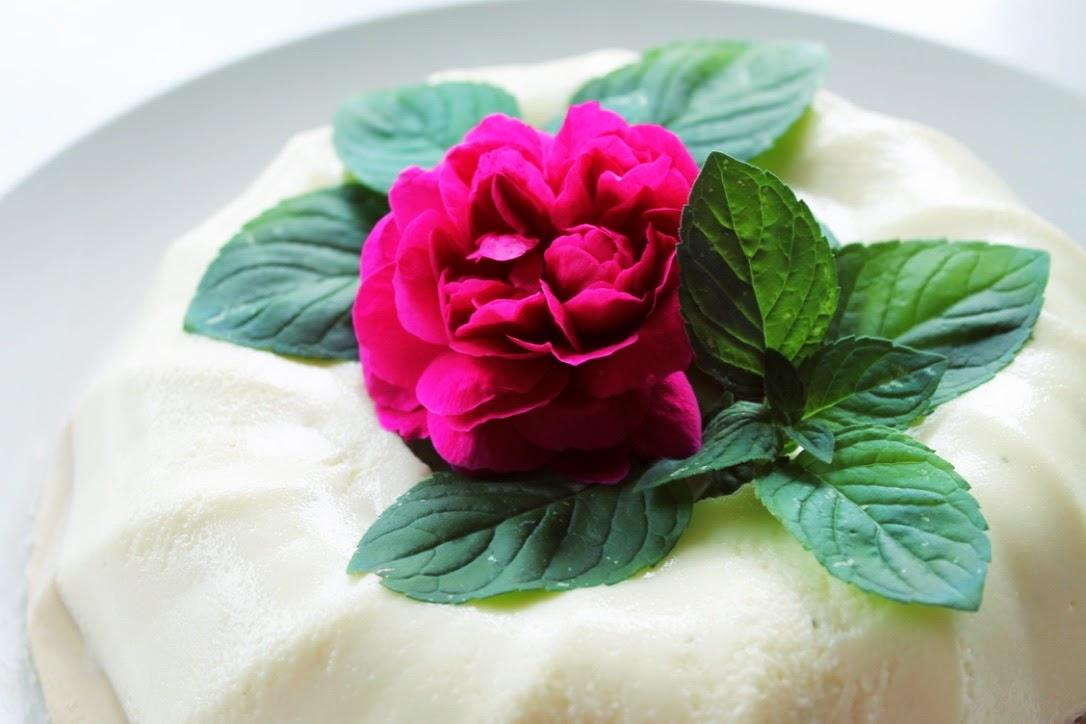 bavarese rosa rossa