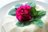 Mint & licorice bavarese