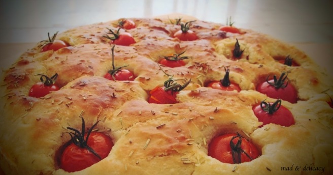 Typical Italian Bread, Focaccia Barese