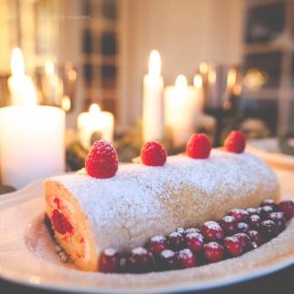 Christmas-Roll Cake