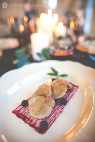 Tenderloin Pork with Blueberry Sauce