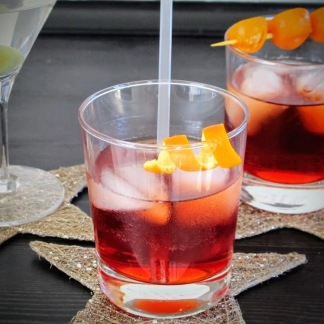 New Year's Eve cocktails: a Negroni
