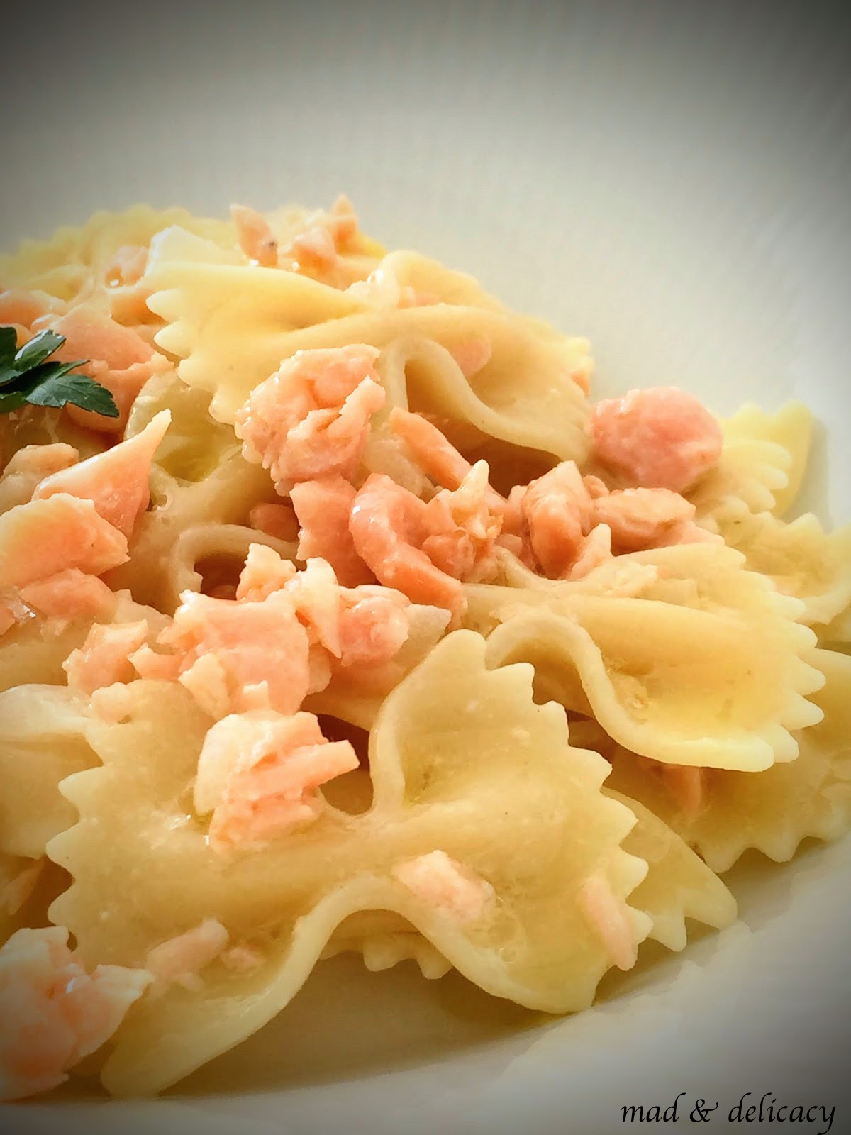 salmon-pasta