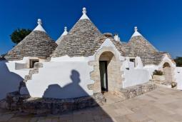Trulli Houses in Puglia
