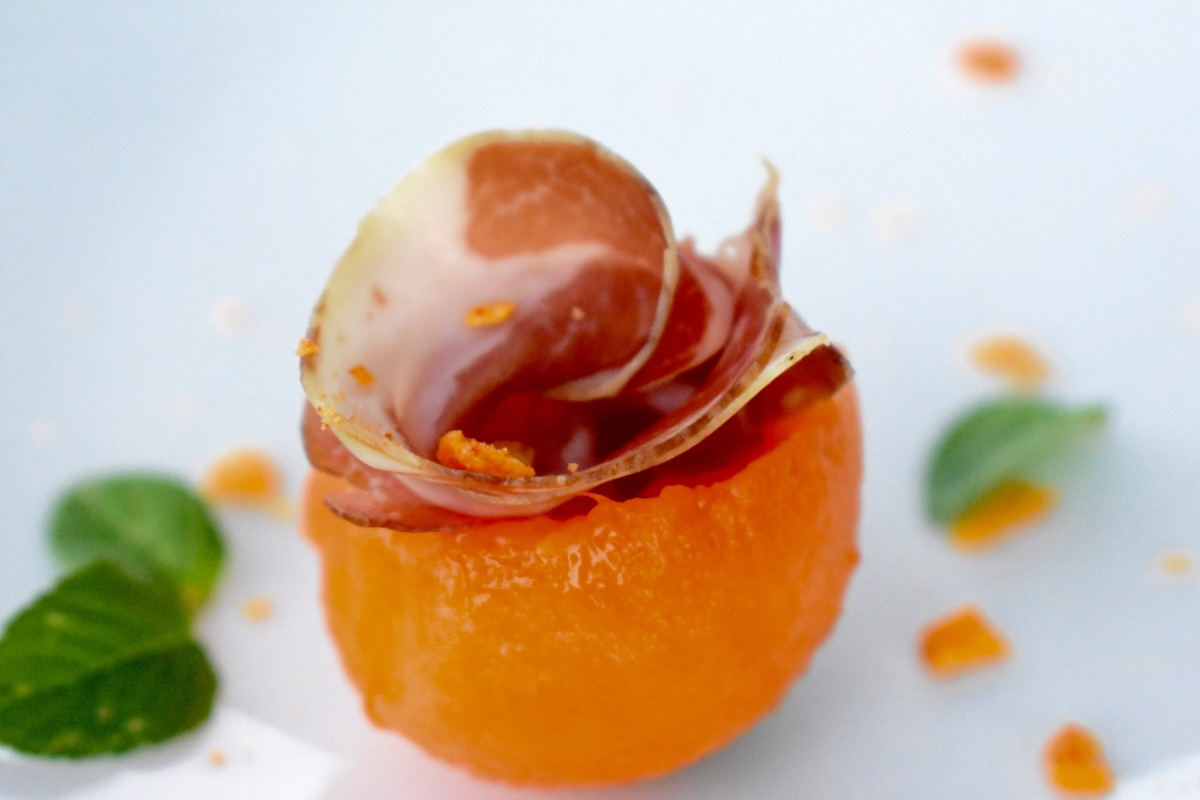 Cantaloupe Melon and Coppa Charcuterie