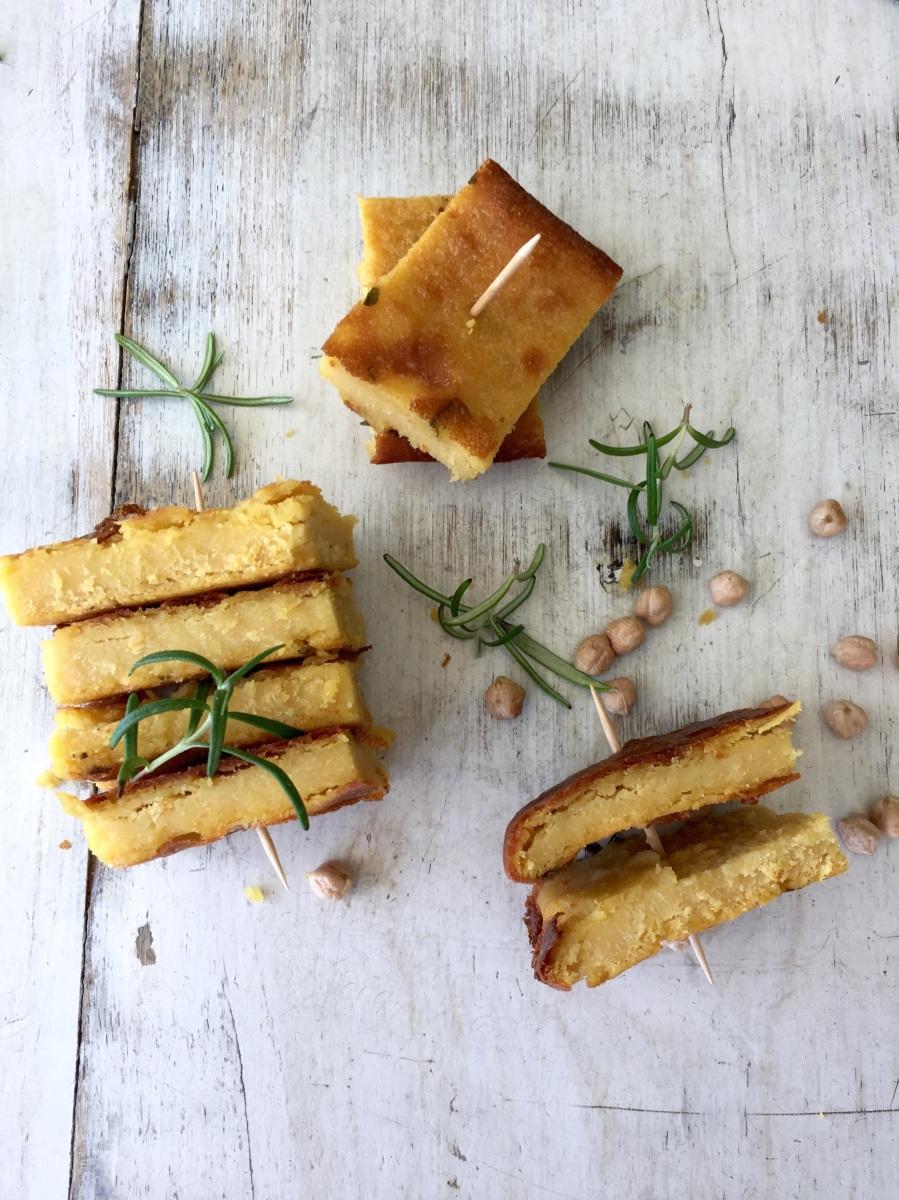 Cecina -  chickpea flour pancake