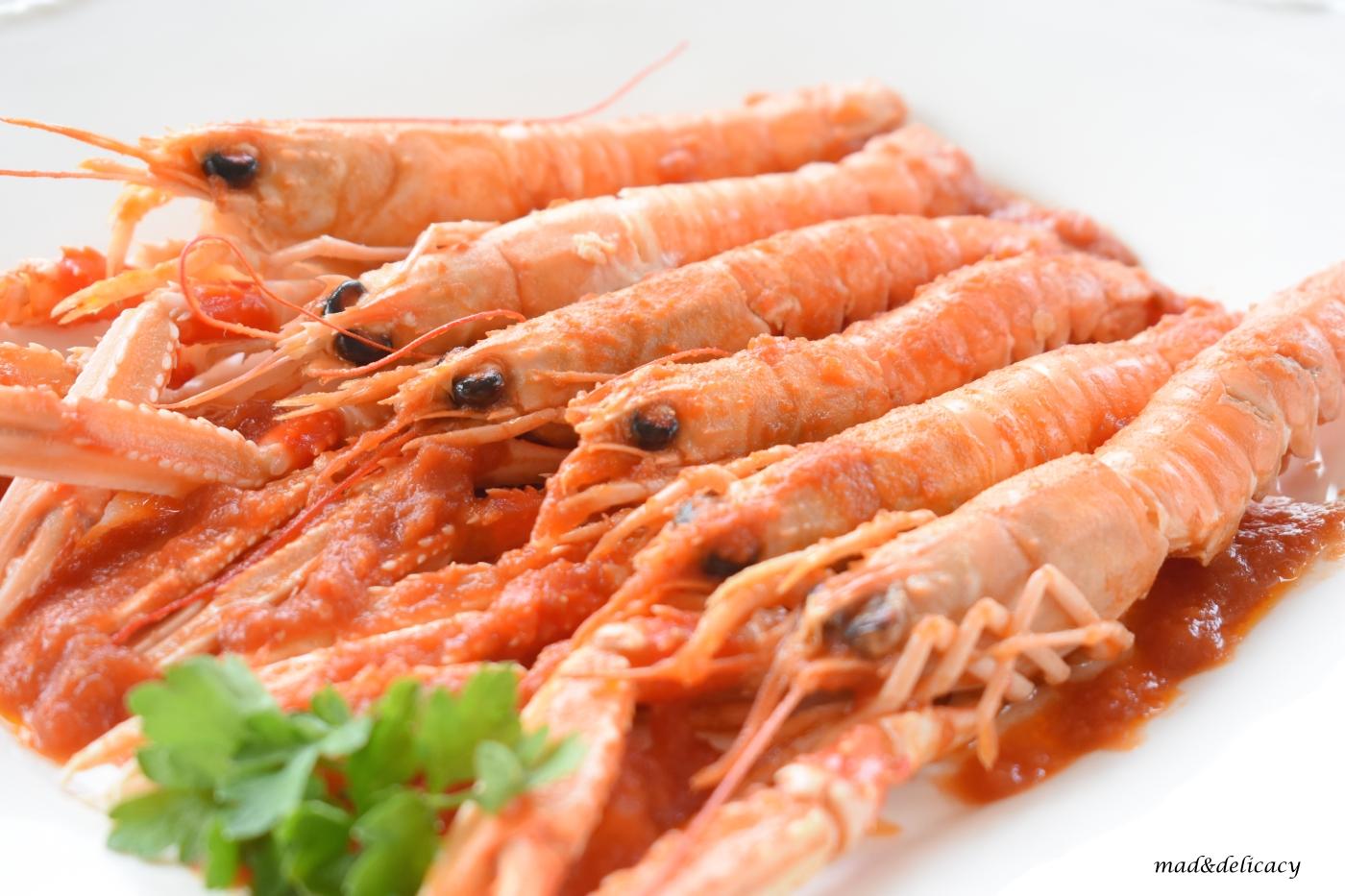 Scampi alla busara: a Delicious Traditional Fish-Dish from Trieste