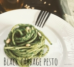 Pasta with Black Cabbage Pesto