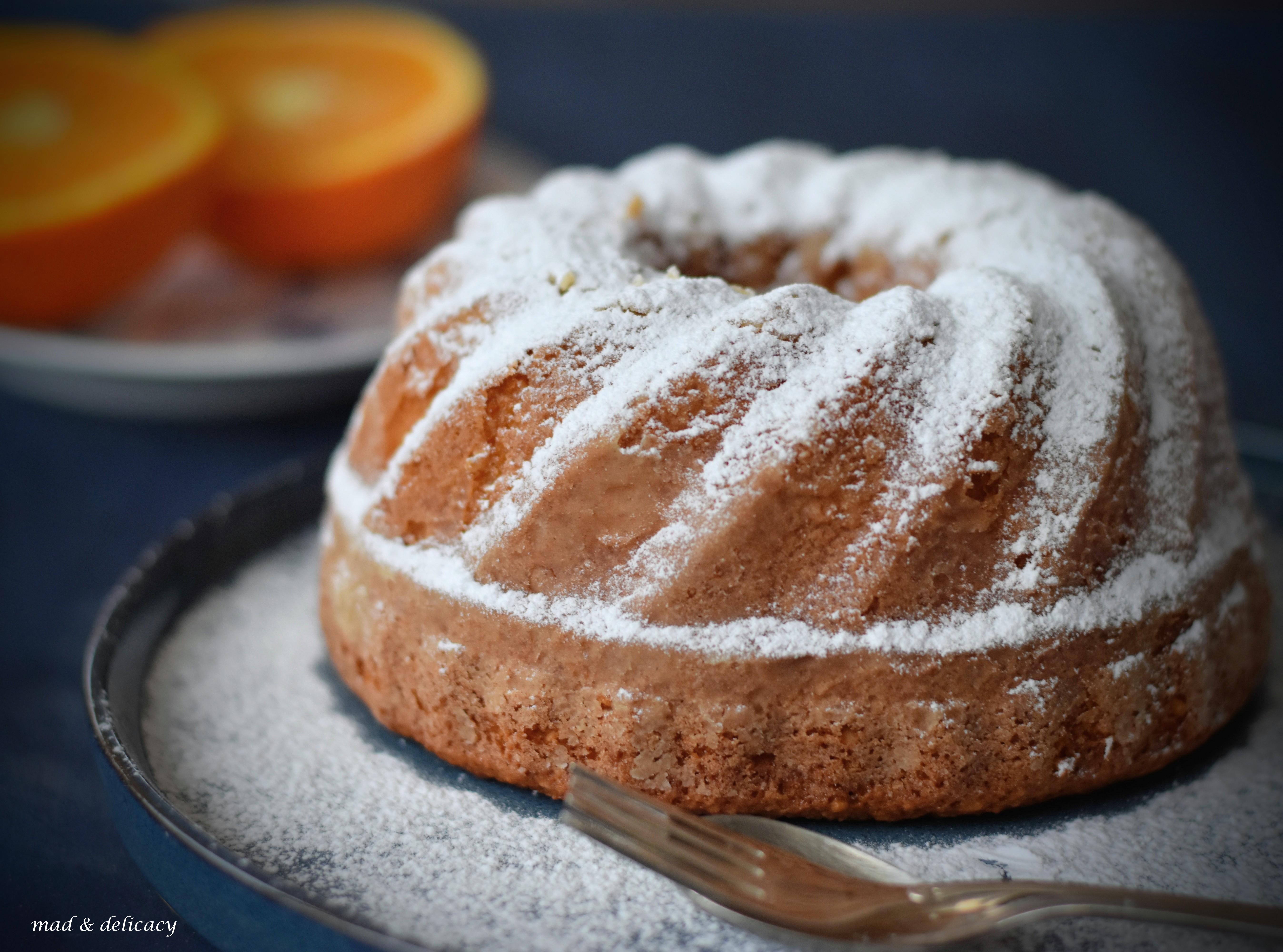 Sicilian Orange cake 3