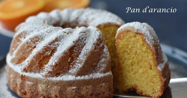 Sicilian Orange Cake - Pan d'arancio