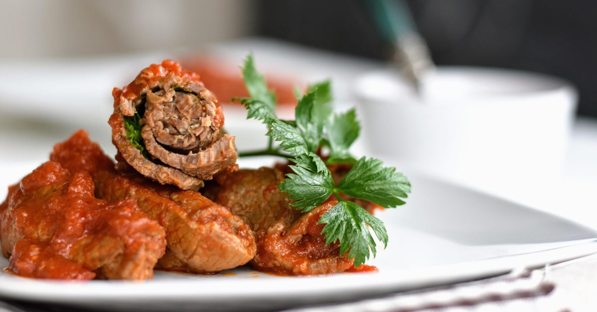 Meat Roll- ups, brasciole from Apulia