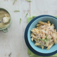 Pasta alla Norcina - Delicious Pasta with Fresh Pork Sausage from Umbria