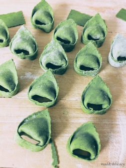 Home made Tortelloni