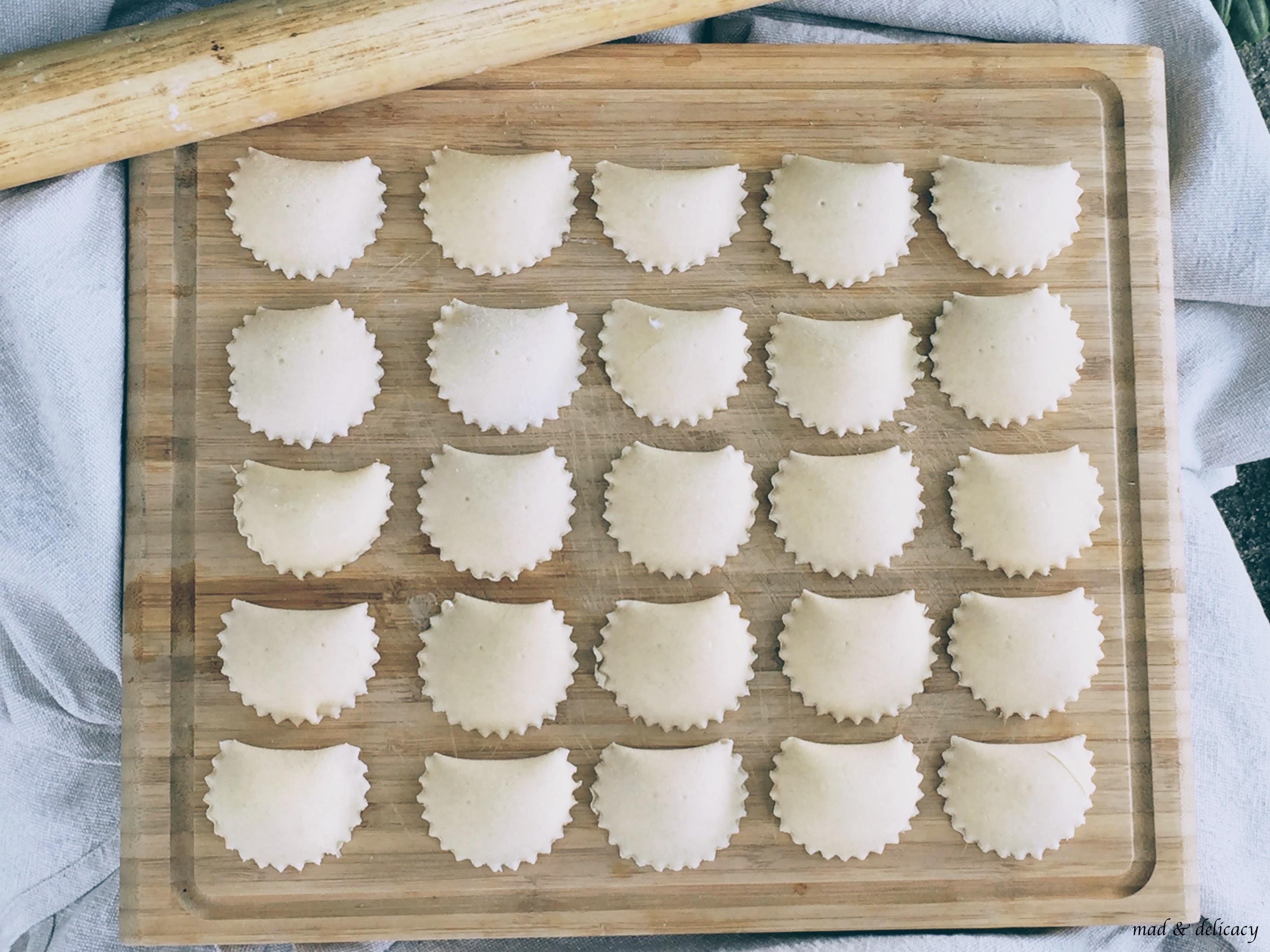 Homemade Sweet Ricotta calzoni from Matera