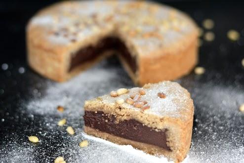 Grandpa's Tart – Torta del Nonno from Tuscany