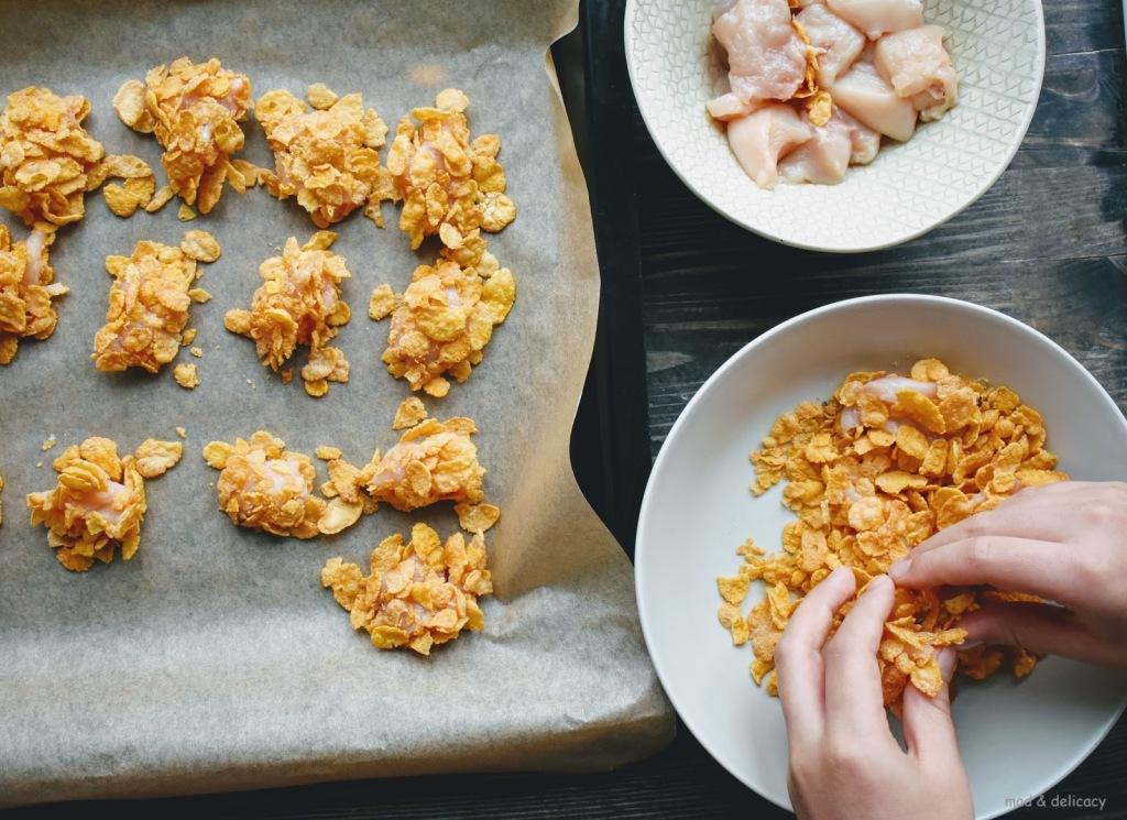 CornFlakes ChickenNuggets