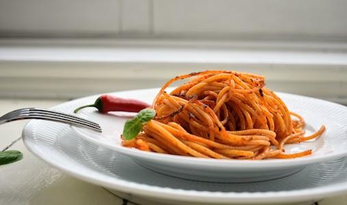 Spaghetti all'Assassina from Puglia