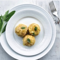 Canederli: Traditional Bread Dumplings from North-East of Italy - by Mariella