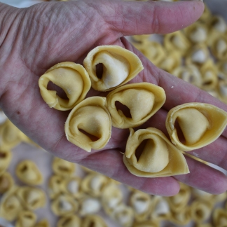 Tortellini from Bologna - Traditional Recipe