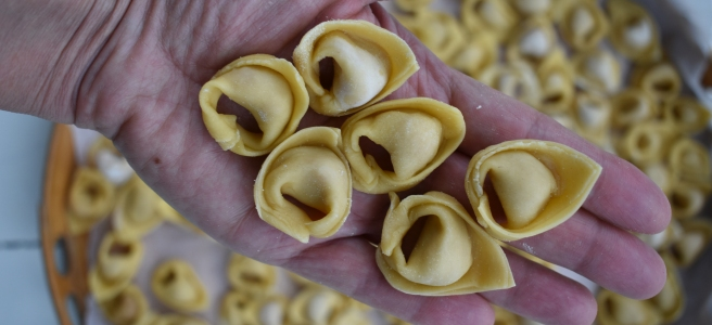Handmade Tortellini from Bologna