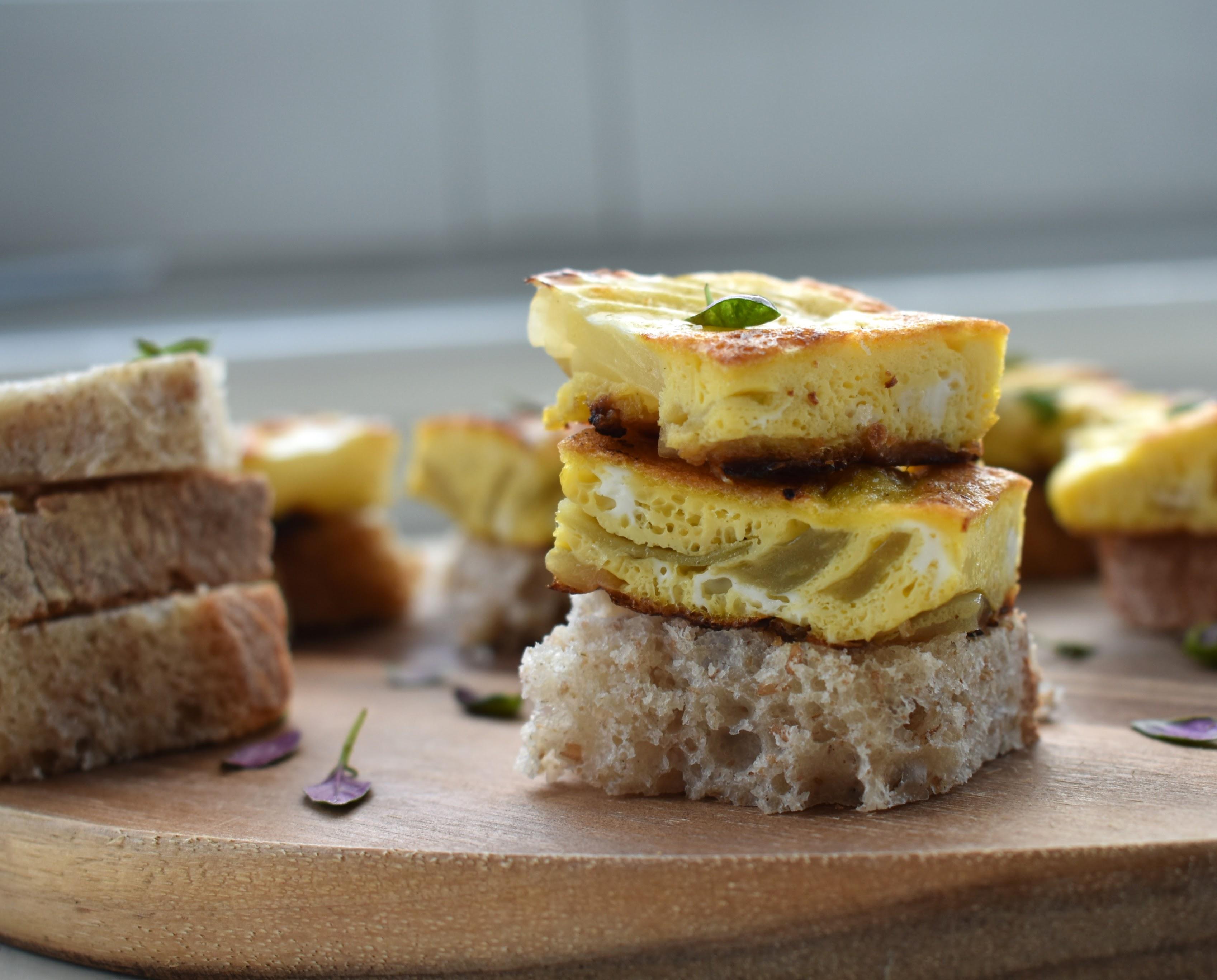 Stovetop Onion Frittata