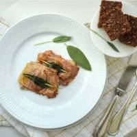 Veal Escalopes with Prosciutto Crudo and Sage - Saltimbocca alla Romana Recipe by Benedetta & Valeria from Local Aromas
