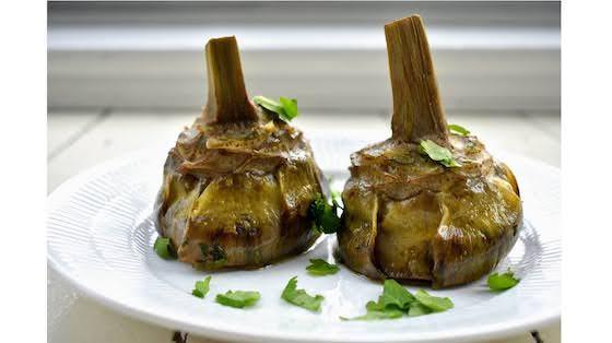 Roman Style Mammole Artichokes Recipe