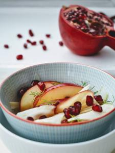 FENNEL, POMEGRANATE and APPLES 🍎 SALAD