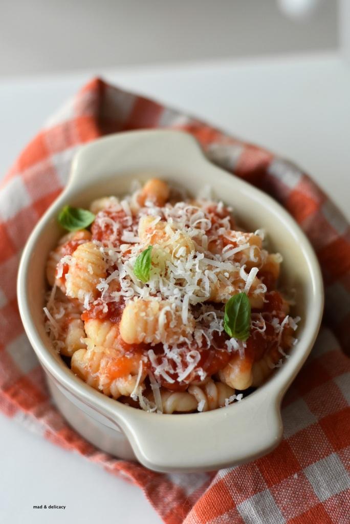 Gnocchetti Sardi - from Sardinia- with Tomato Sauce