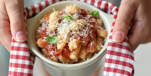 Gnocchetti Sardi with Tomato Sauce