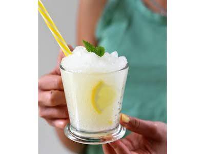 Quick and Fragrant Lemon Granita from Sicily