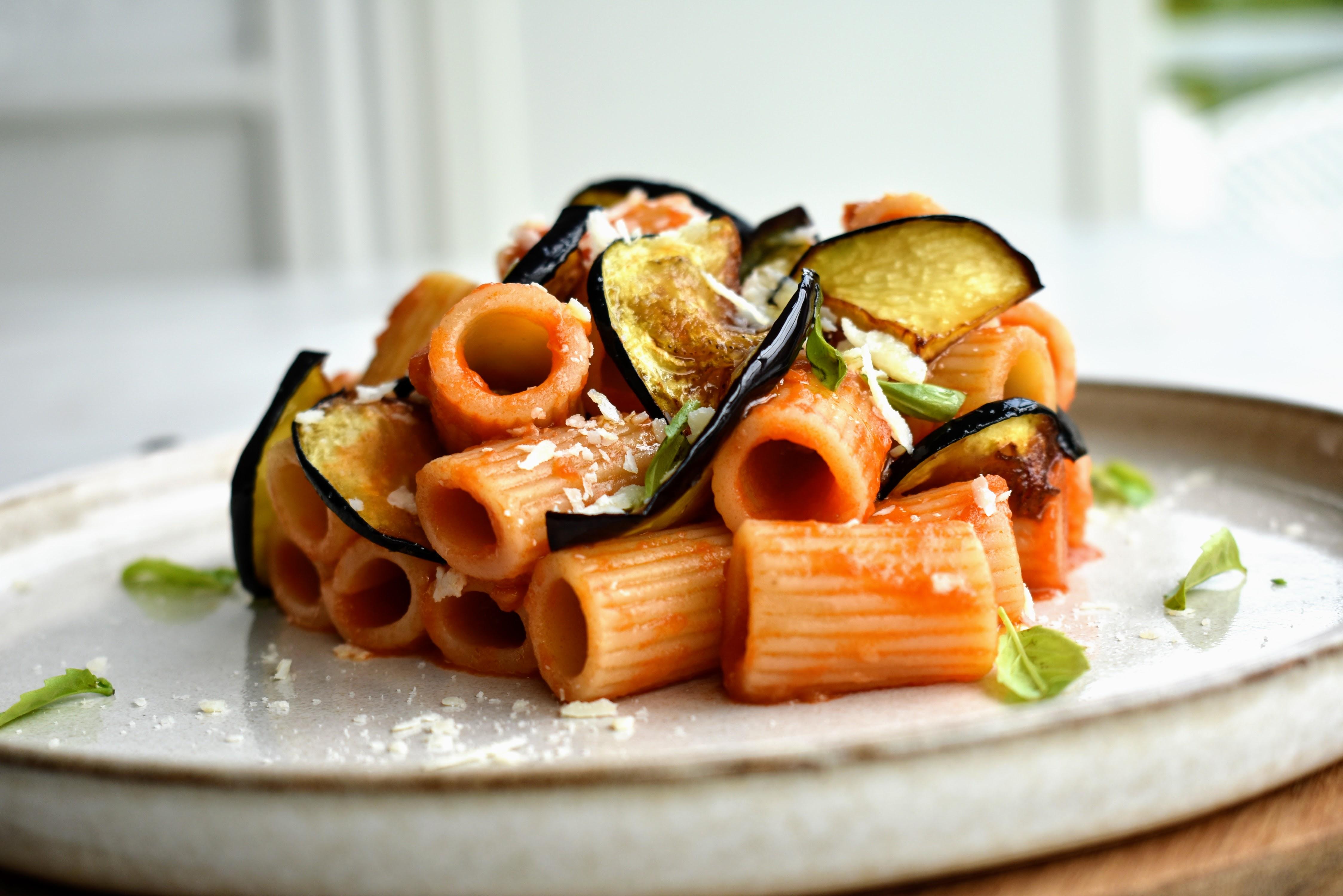 Pasta alla Norma from Sicily