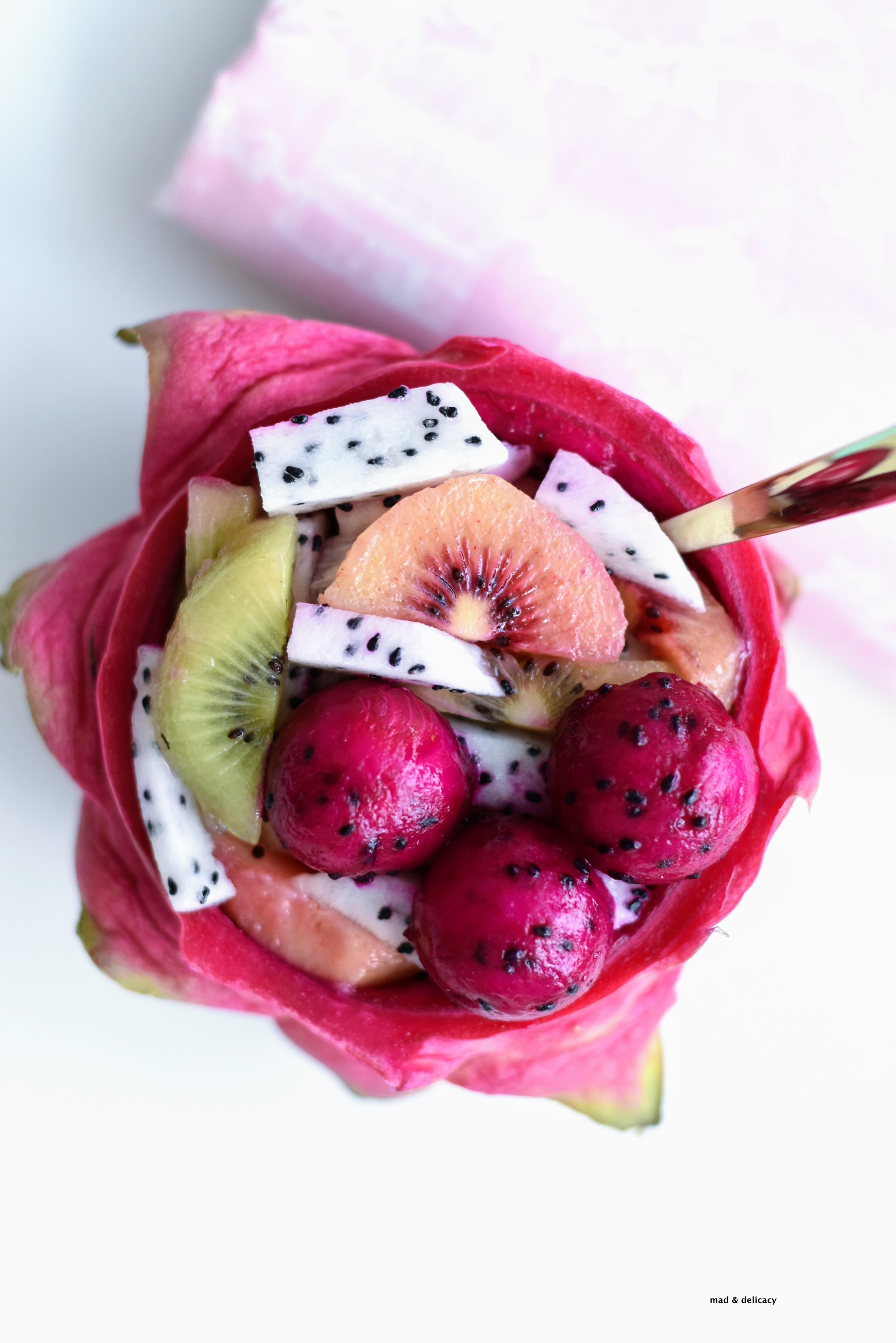 Tropical Fruit Macedonia Salad