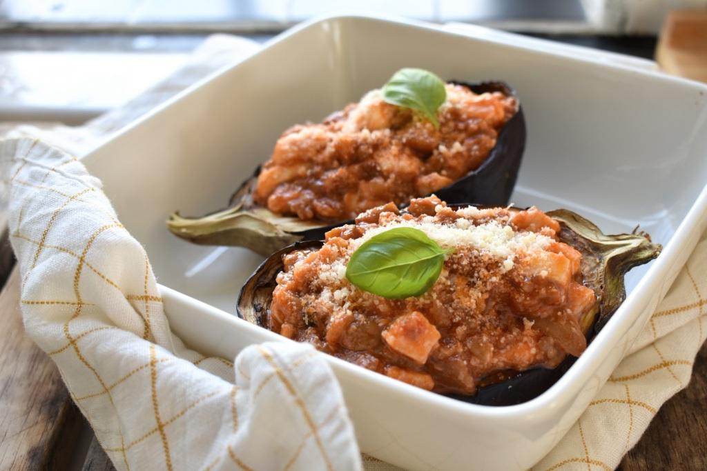 Cheesy-stuffed-aubergines