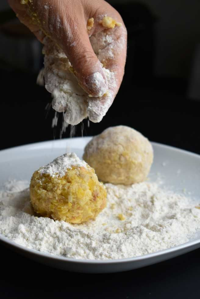 Traditional Canederli from Trentino Area