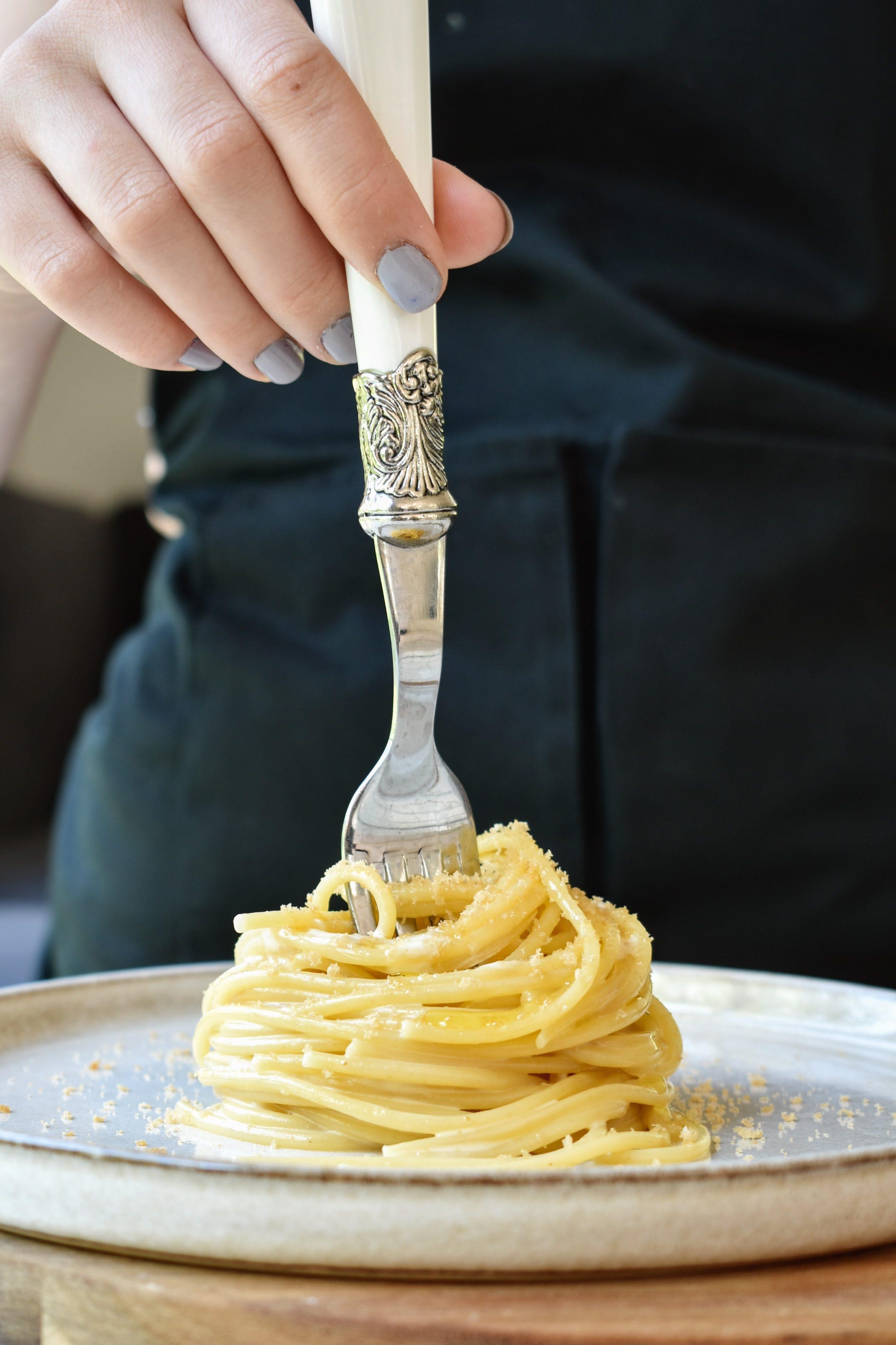 Spaghetti with Bottarga